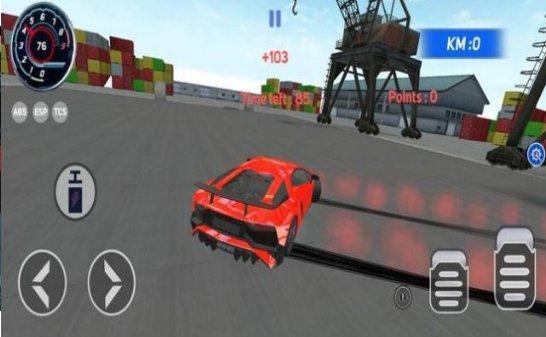 顶级赛车驾驶交通